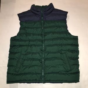 Navy Blue/Green Old Navy XL Vest